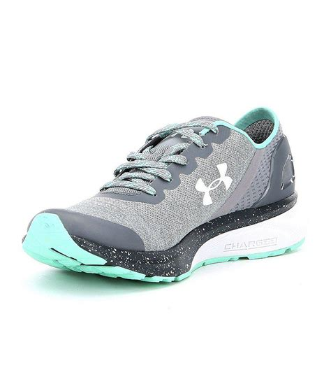 Under Armour Women's Charged Escape Sneakers in Gray - Lyst